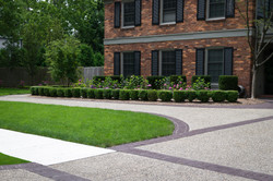 New Driveway and Landscape