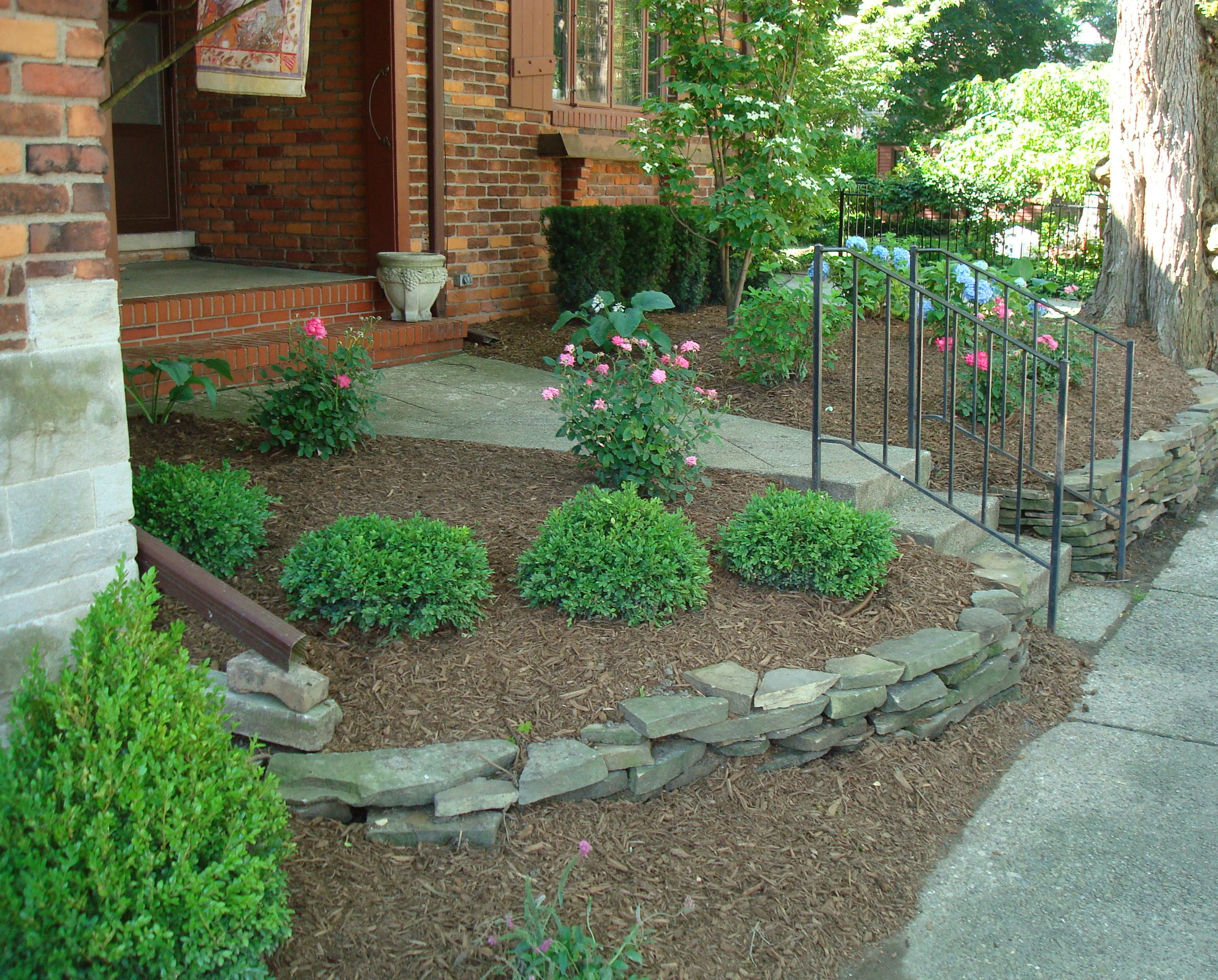 Redesigned Landscaping