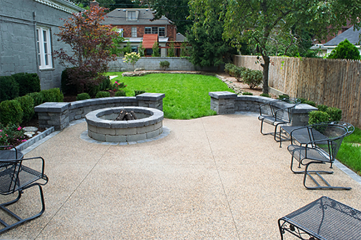 Full Backyard Patio and Landscaping