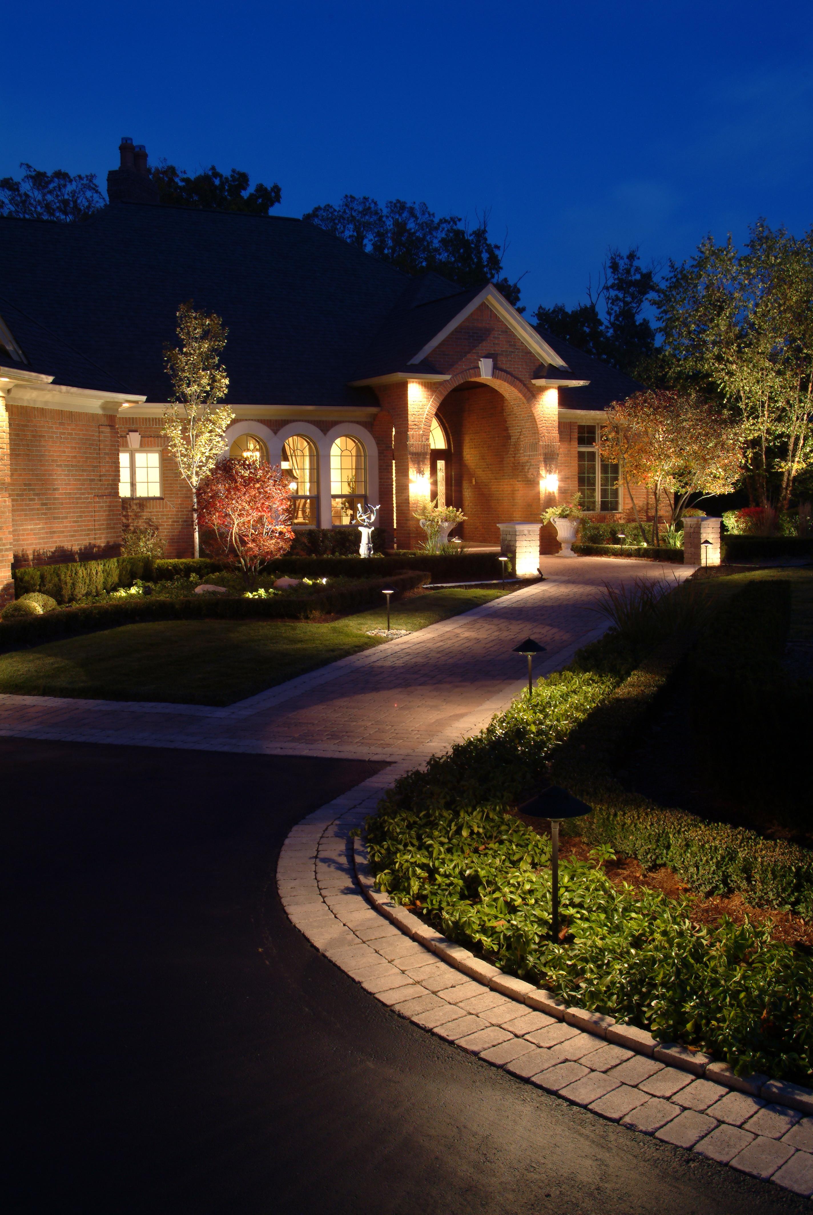 Beautiful Outdoor Lighting