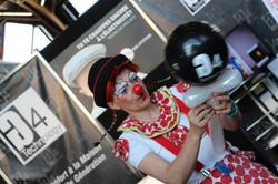 Anita le Clown notre célèbre cliente