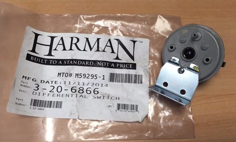 Pressostat / Capteur de dépression HARMAN