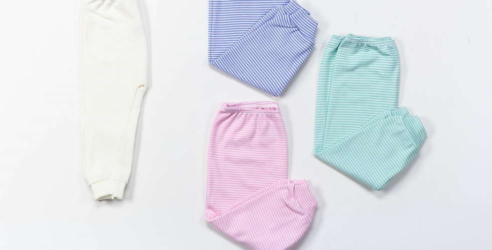 Pantalón s/pie rayado especial