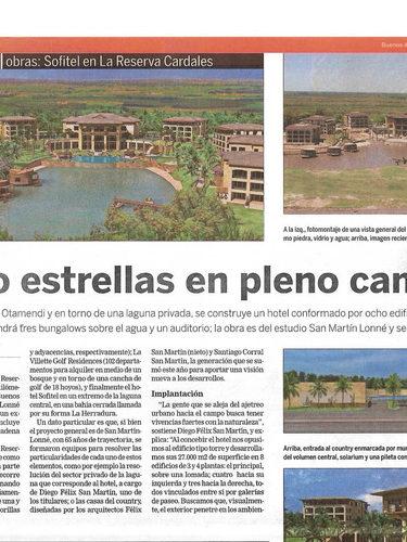 Hotel Sofitel La Reserva Cardales - La Nación