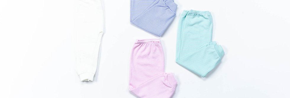 Pantalón sin pie tricolor