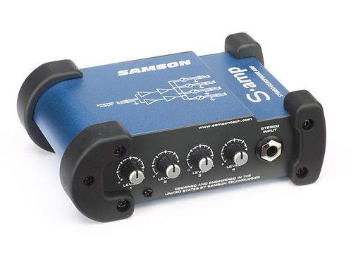 Samson S Amp 4-Channel Mini Headphone Amp