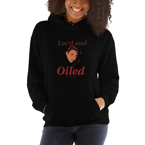 Loc'd and Oiled Unisex Hoodie