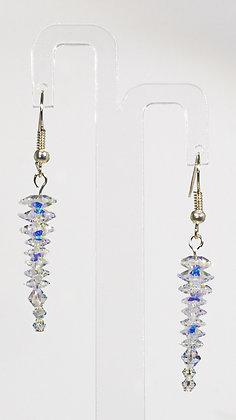 Swarovski Crystal icicle earrings