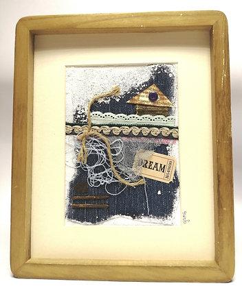 Dream - Framed Collage