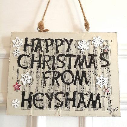 Happy Christmas from Heysham