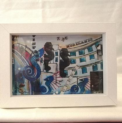 Midland Hotel print of Artwork by Seaside Canvas