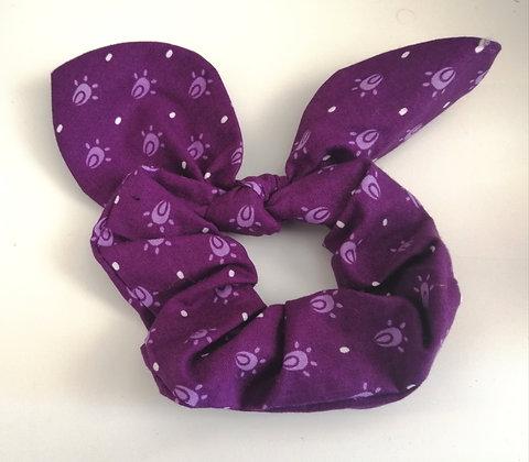 Bunny ear scrunchies