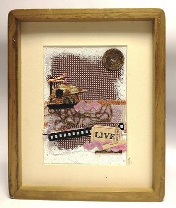 Live - Framed collage