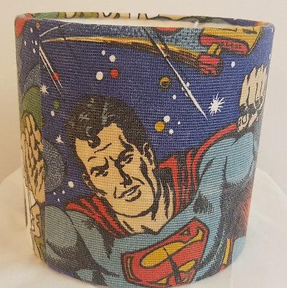 Small Retro Superman lampshade