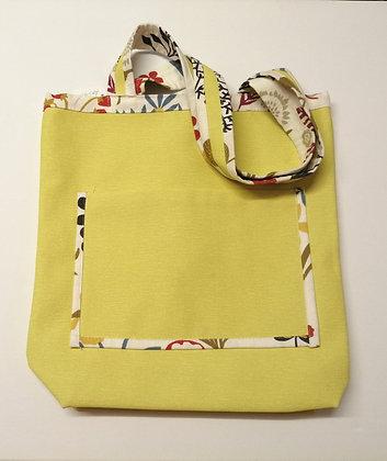 Yellow PLU tote bag