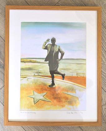 Eric Morecambe print by Linda Page