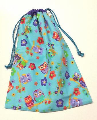 Drawstring bag owl design