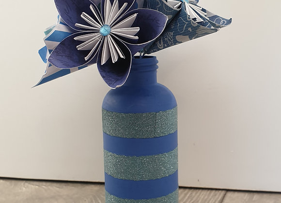 Beautiful origami bouquet