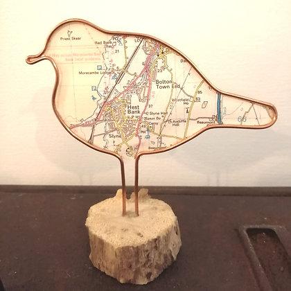 Hest bank map bird