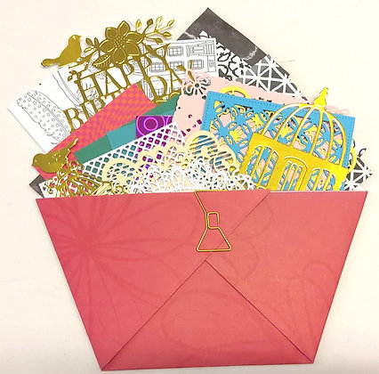 Scrapbook Journal envelope of delights