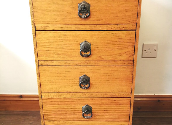 Vintage oak drawers