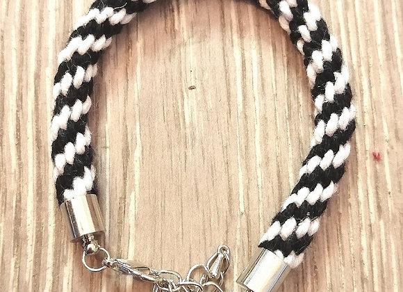 Handmade kumihimo bracelets