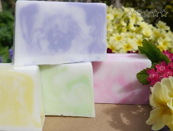 Rose or Elderflower  handmade soap