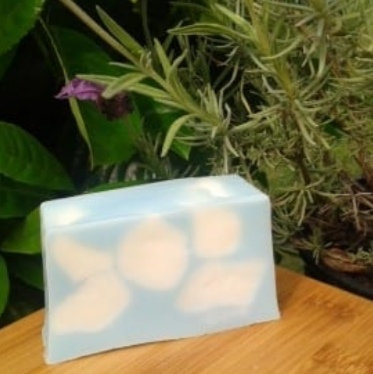 Summer sky hand made soap