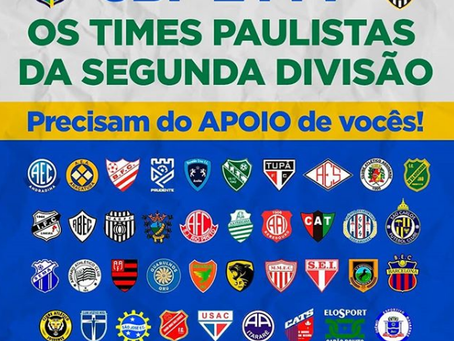 Clubes da última divisão Paulista cobram atitude da CBF