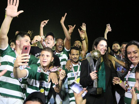 Sport Lagoa Seca é campeão da 2ª divisão do Campeonato Paraibano
