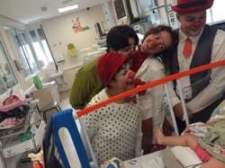 HOSPITAL DAS CLINICAS , amigos do Nariz