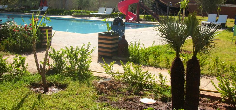 Morrocan Resort Garden
