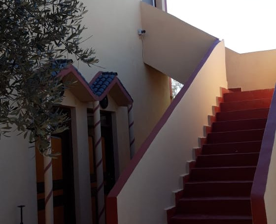 Moroccan Resort StairCase to Room