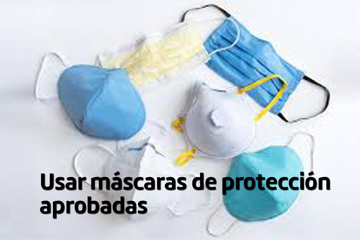 Mascaras contra el covid -Promo