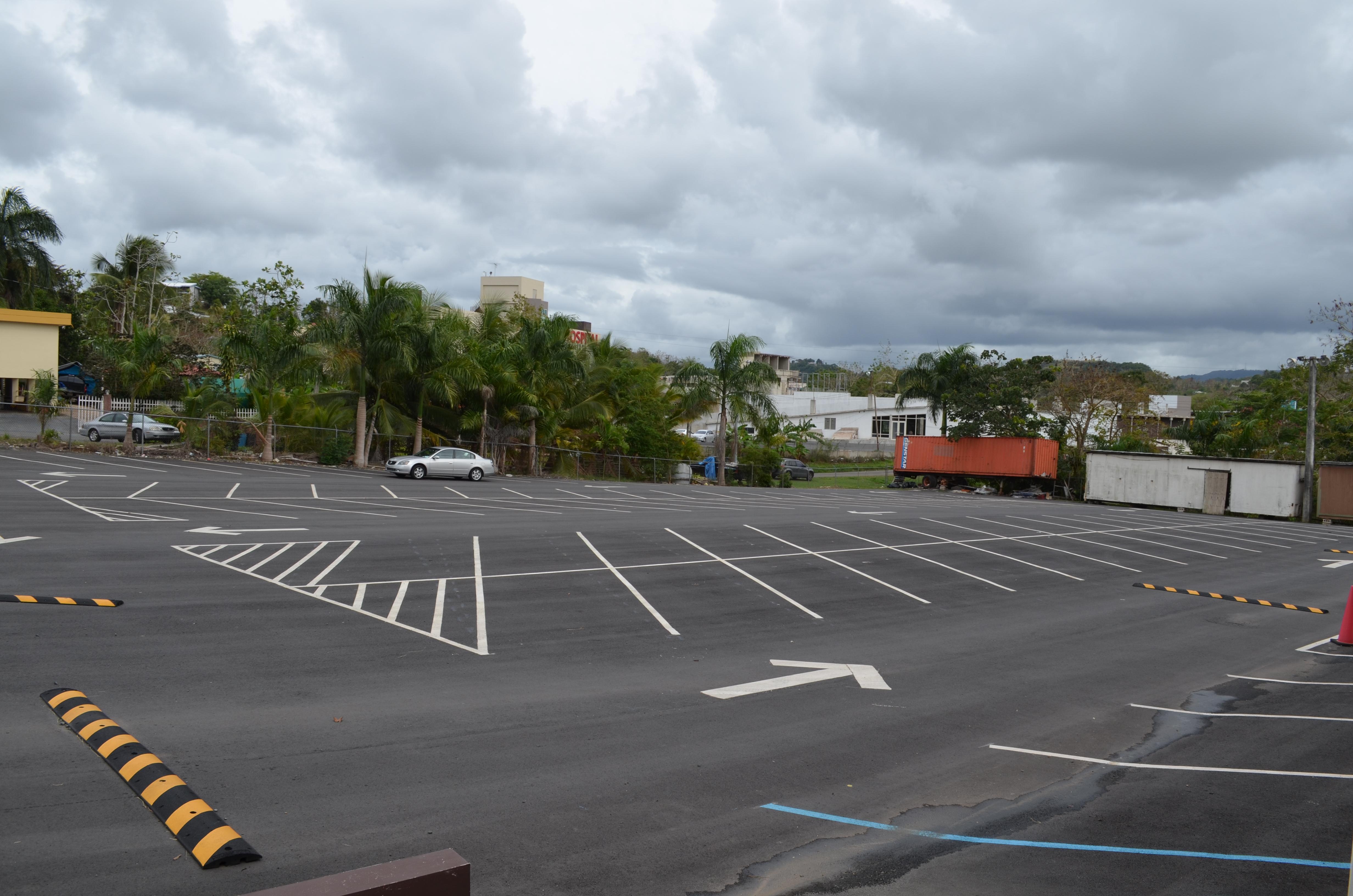 Facilidades de aparcamiento