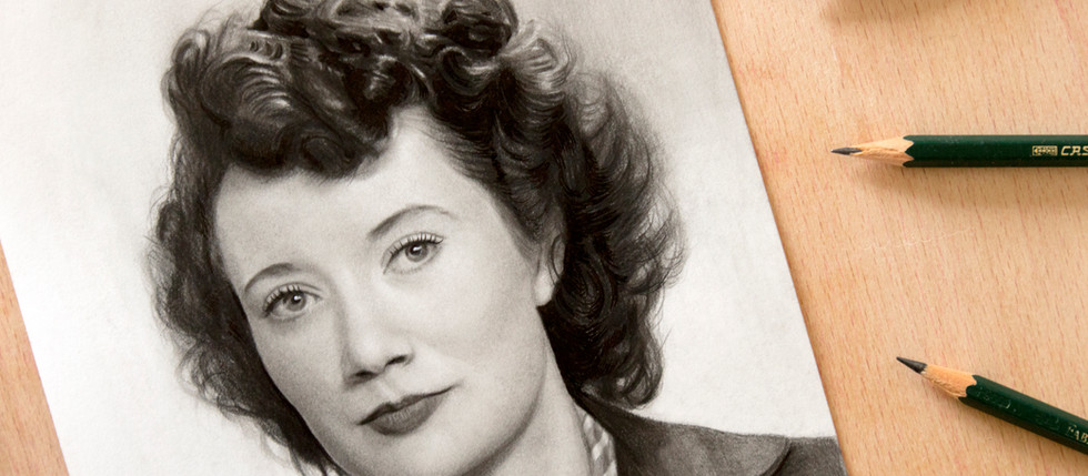 Everything You Need to Draw a Black and White Portrait