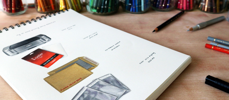 Essentials for Printing your Artwork at Home - an illustration