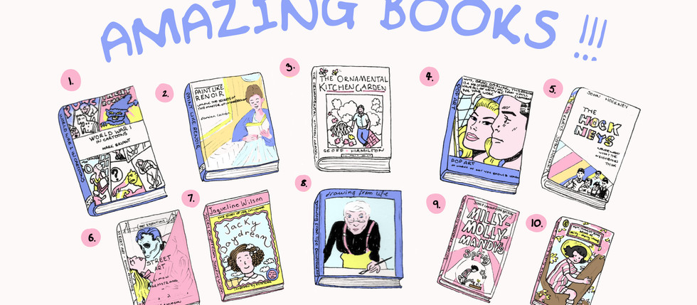 Amazing Books and Wobbly Lines
