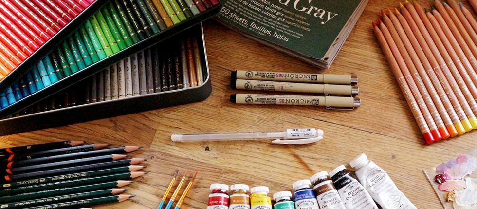 My 10 Favourite Art Supplies of 2017