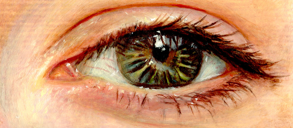 How To Paint and Eye with Oil Paint
