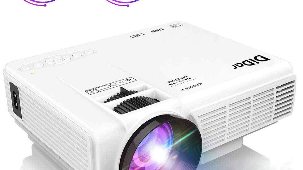 DIDAR 3500 Lumen Mini Portátil Video Proyector