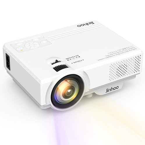 Mini Projector 1080P Supported, 2400 Lumens Full HD Video Projector