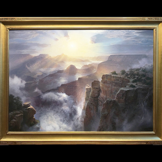 """Sunburst, Grand Canyon"""