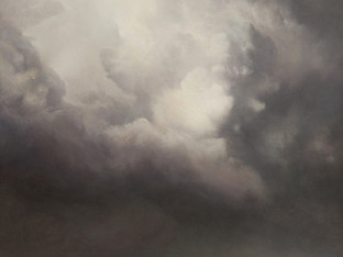 """""""Composition for Cloud in Pewter"""""""