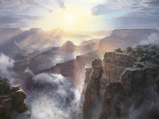 """Sunburst, Grand Canyon"""
