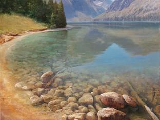 """""""Transparency, Jenny Lake"""""""