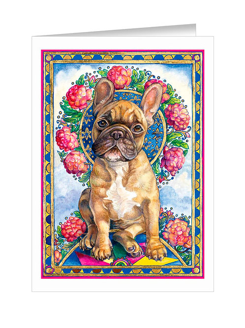 French Bulldog with Pinwheel #040
