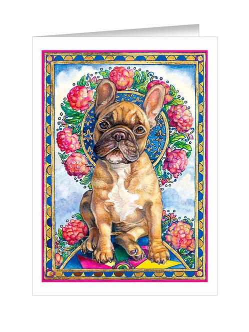 French Bulldog with Pinwheel #040