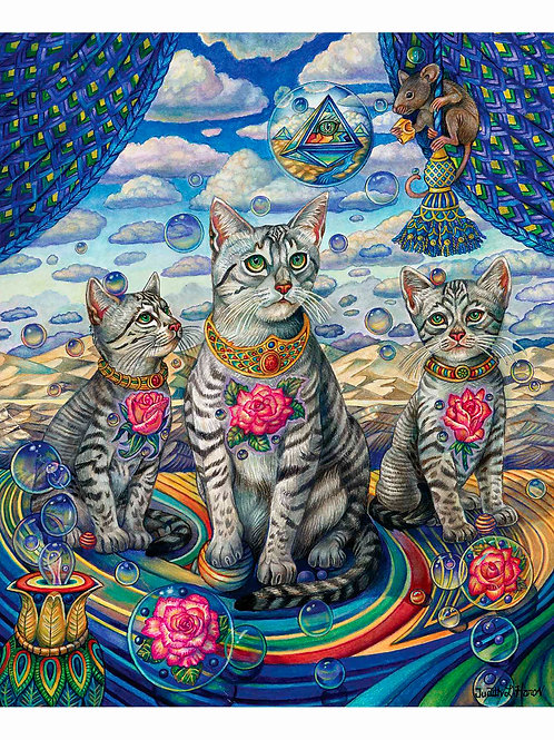 Egyptian Rose of Mau - Paper Giclee Print