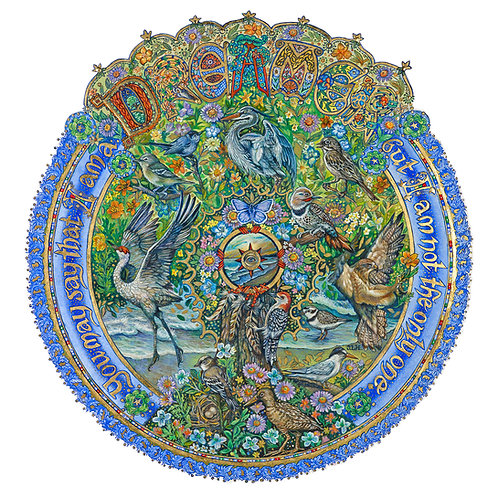 Dreamer Mandala - Original Artwork SOLD